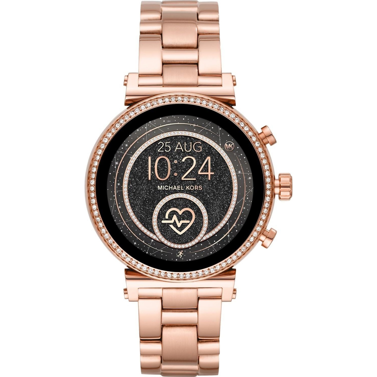 Fotografie Ceas smartwatch MICHAEL K Sofie Heart Rate, MKT5063, Stainless Steel, Rose Gold