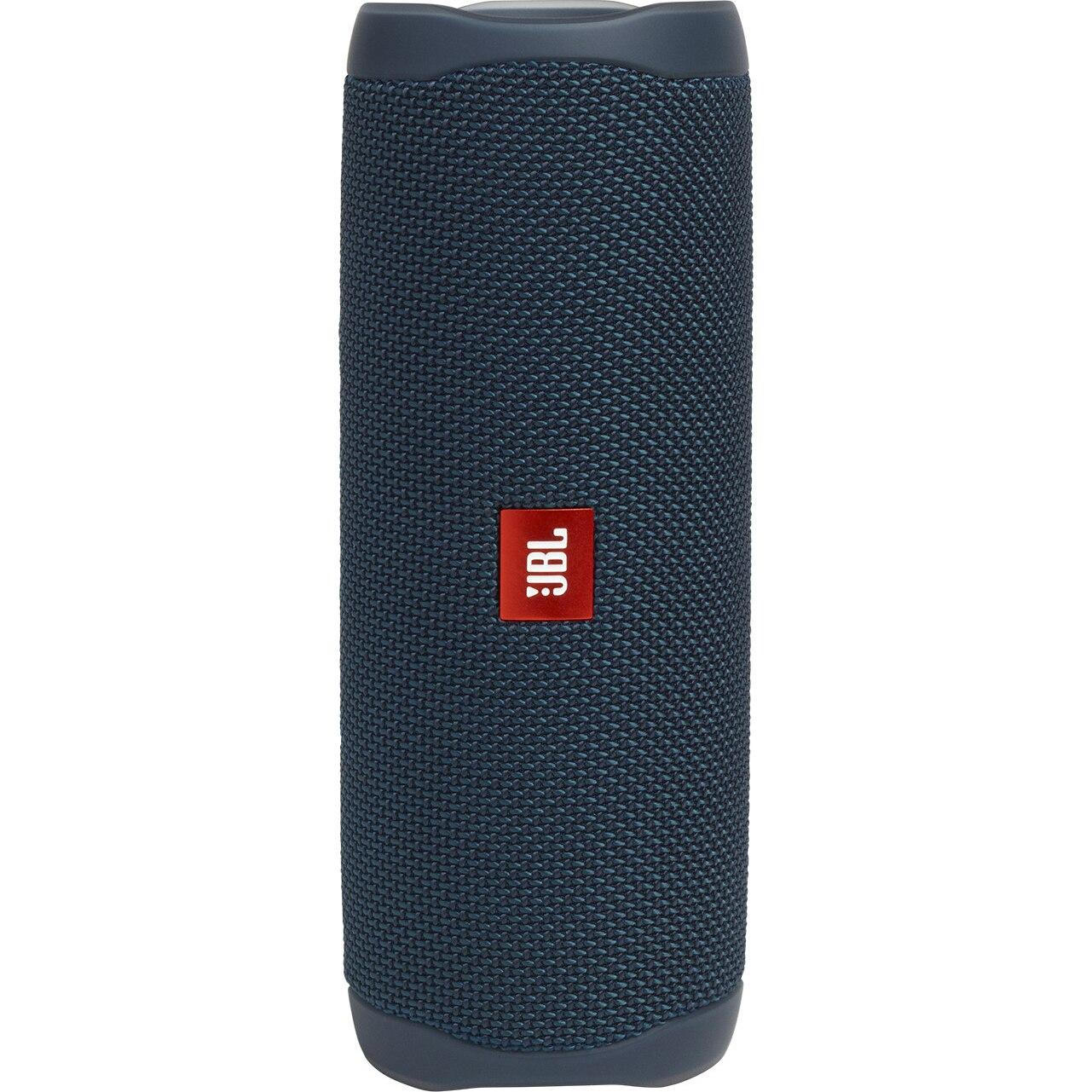 Fotografie Boxa portabila JBL FLIP5, Bluetooth, PartyBoost, USB C, Powerbank 4800mAh, Rezistenta la apa IPX7, Albastru