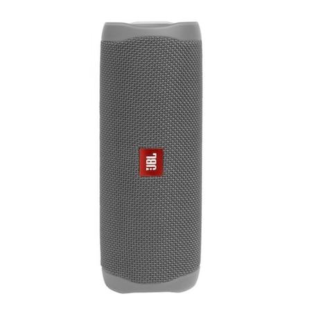 Boxa portabila JBL FLIP5, Bluetooth, PartyBoost, USB C, Powerbank 4800mAh, Rezistenta la apa IPX7, Gri