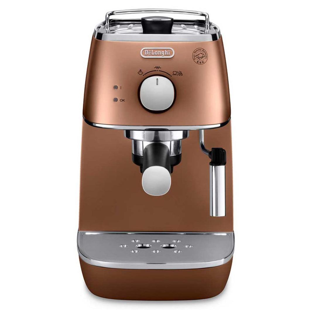 Fotografie Espressor manual De'Longhi Distinta ECI 341 CP, 1100 W, 15 Bar, Sistem Cappuccino, Bronz