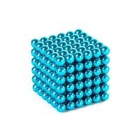 Zanox képességfejlesztő játék, Neocube 216 mágneses golyók, világoskék, 5mm