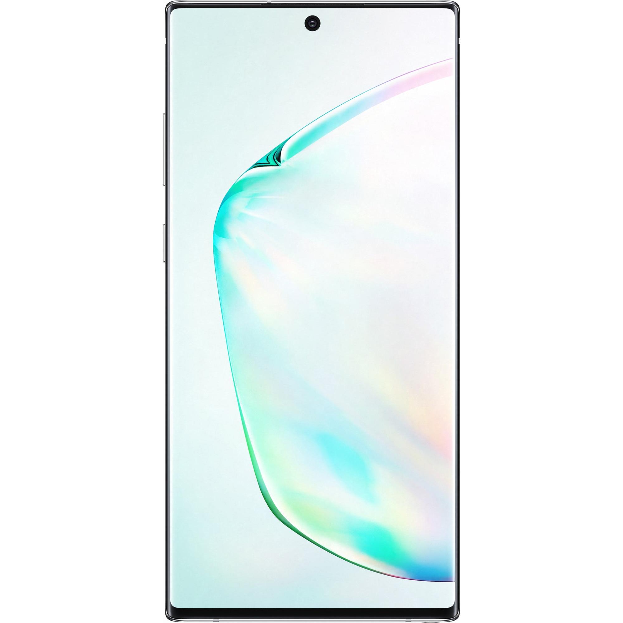Fotografie Telefon mobil Samsung Galaxy Note 10 Plus, Dual SIM, 512GB, 12GB RAM, 4G, Aura Glow