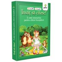 Pachet pentru copii, Invat sa citesc pentru cititori incepatori, 5-7 ani, vol.4, 5 carti