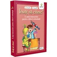 Pachet pentru copii, Invat sa citesc pentru cititori entuziasti, 6-8 ani, vol.1, 5 carti