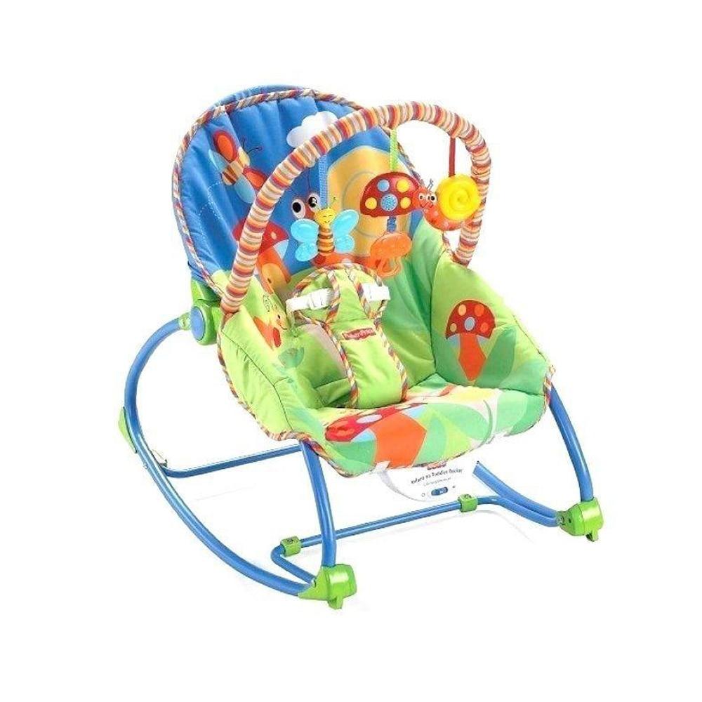 Rezgő, zenélő baba pihenőszék babaringató eMAG.hu