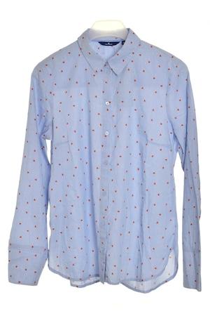 Tom Tailor kék, szívecskés női ing – 44
