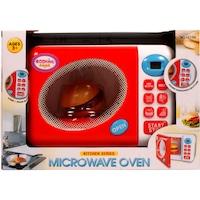 Play at Home (31042) fehér-piros műanyag, elemes, mikrohullámú sütő