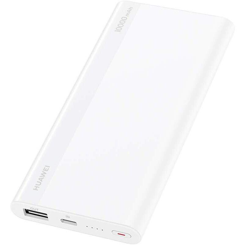 Fotografie Acumulator extern Huawei CP11QC, 10000 mAh, 18W, White