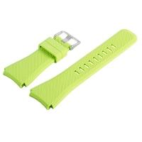 Силиконова каишка Spulse за smartwatch Samsung Galaxy S3 Frontier / Samsung galaxy watch / HUAWEI WATCH GT/GT2/GT2 Pro, цвят зелен лайм