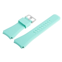 Силиконова каишка Spulse за smartwatch Samsung Galaxy S3 Frontier / Samsung galaxy watch / HUAWEI WATCH GT/GT2/GT2 Pro, Тюркоаз