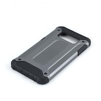 Műanyag védőtok, Superprotect, Samsung Galaxy S6, ütésálló, karcálló, Szürke