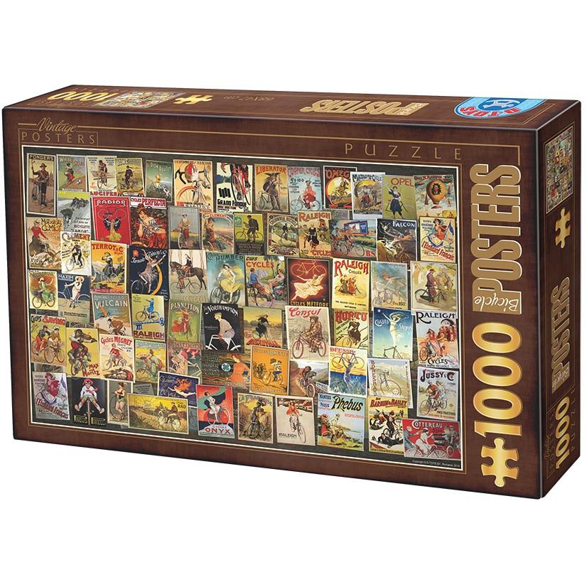 Fotografie Puzzle D-Toys Postere de Colectie, 1000 piese