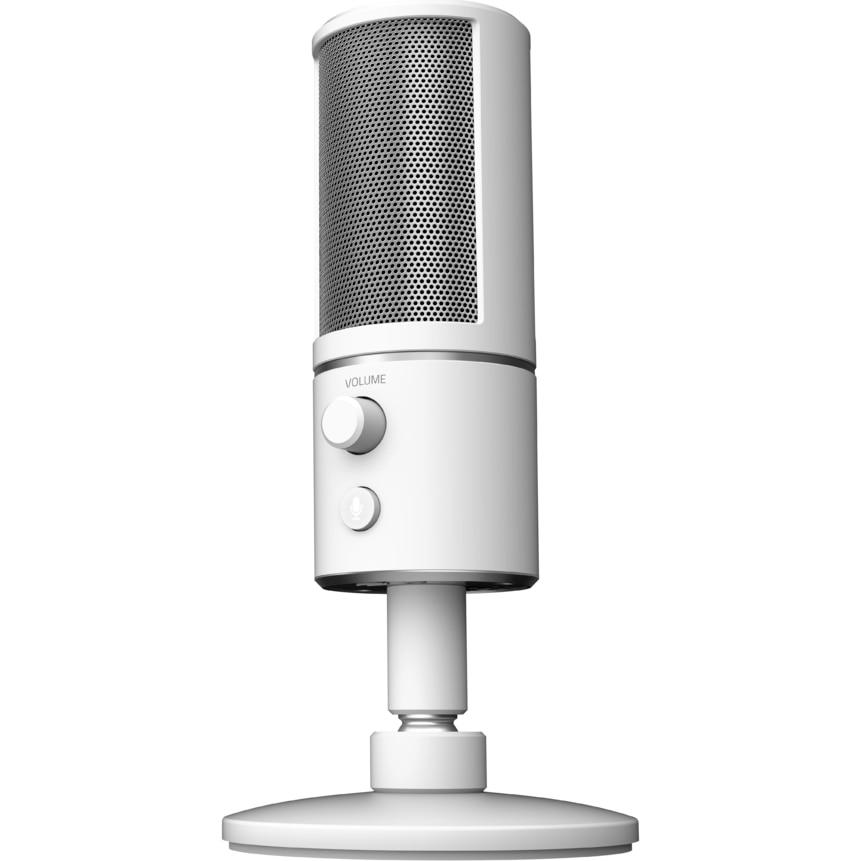 Fotografie Microfon gaming Razer Seiren X, Mercury White
