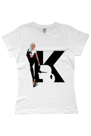 Tricou Karl Model Luxury, alb, M