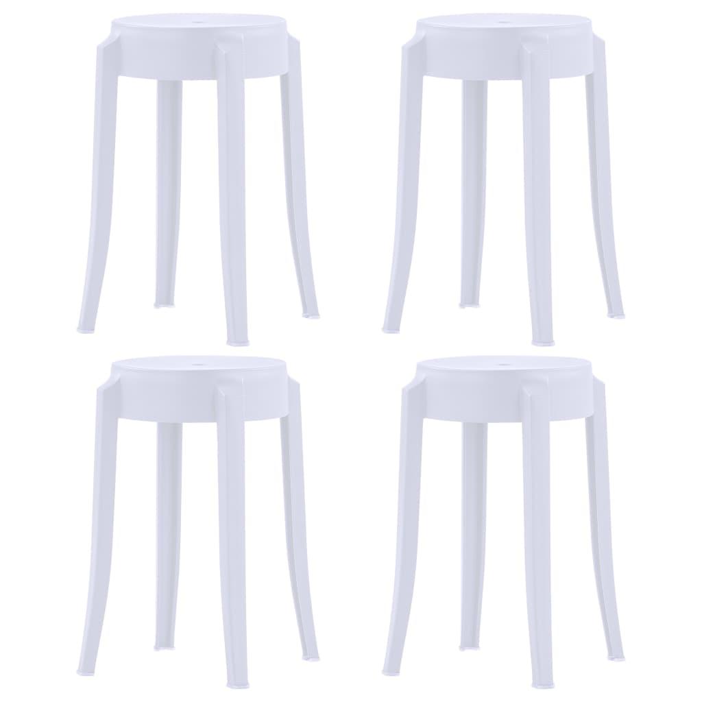 design műanyag fa szék rakatolható