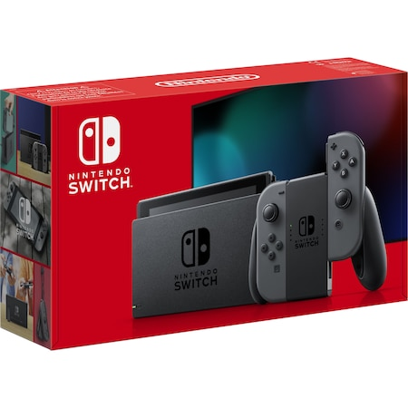 Конзола NINTENDO SWITCH (WITH GREY JOY-CONS)