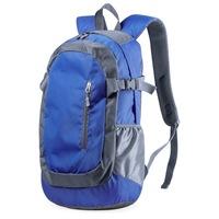 Densul hátizsák, vízálló hátizsák több cipzáras zsebbel, párnázott pántokkal lime színben