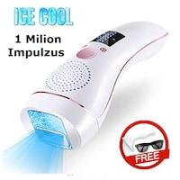 Remy Deluxe lézeres epilátor 1 milion impulzus, funkció hideg kompresszor, fiatalító funkció, UV szűrő a bőr védelmére