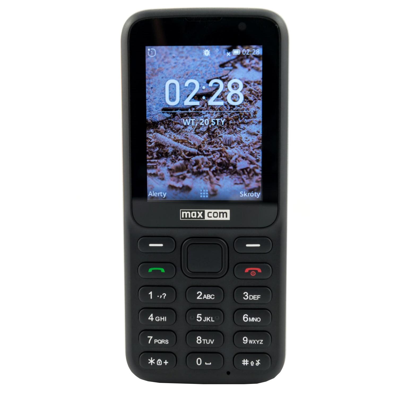 Fotografie Telefon mobil MaxCom Classic MK241, 4G, Black
