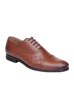 Pantofi barbatesti Pieton, din piele naturala, 167, Maro, 39