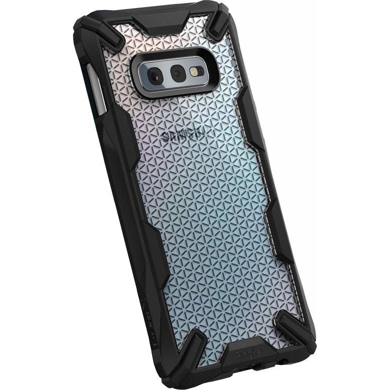 Fotografie Husa de protectie Ringke pentru Samsung Galaxy S10 Lite fusion x design hexagon, Negru