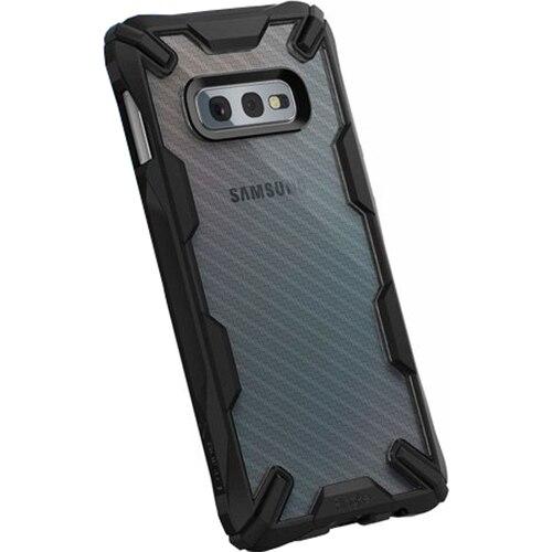 Fotografie Husa de protectie Ringke pentru Samsung Galaxy S10 Lite fusion x design carbonfiber, Negru