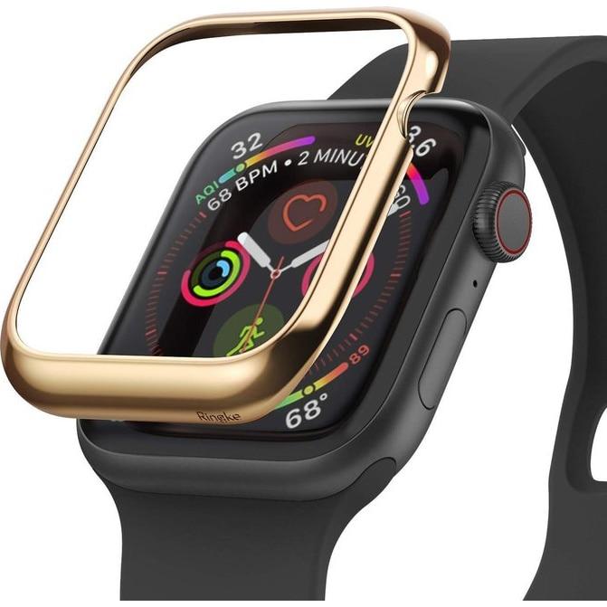 Fotografie Folie de protectie Ringke Bezel Styling pentru Apple Watch 44mm, Auriu