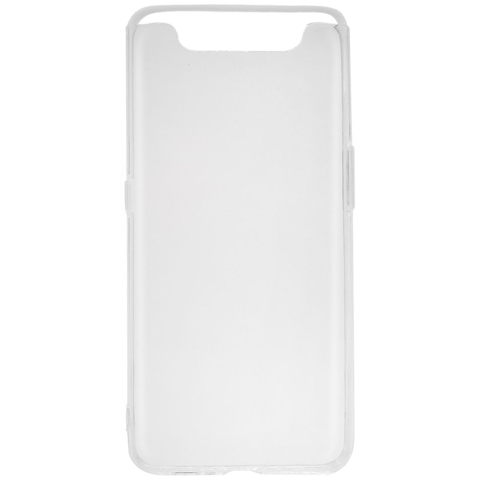 Fotografie Husa de protectie Lemontti pentru Galaxy A80, Silicon, Transparent