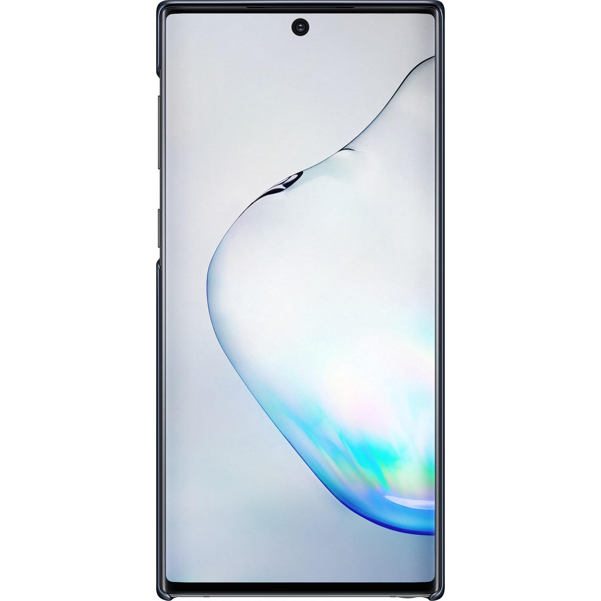 Fotografie Husa de protectie Samsung LED pentru Galaxy Note 10, Black