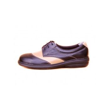 Modinno Női komfort félcipő fekete/bézs - 36