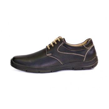 Modinno Férfi komfort félcipő fekete