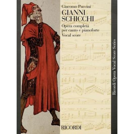 Puccini Il Tabarro Opera Completa Vocal Score Piano /& Vocal Sheet Music Book