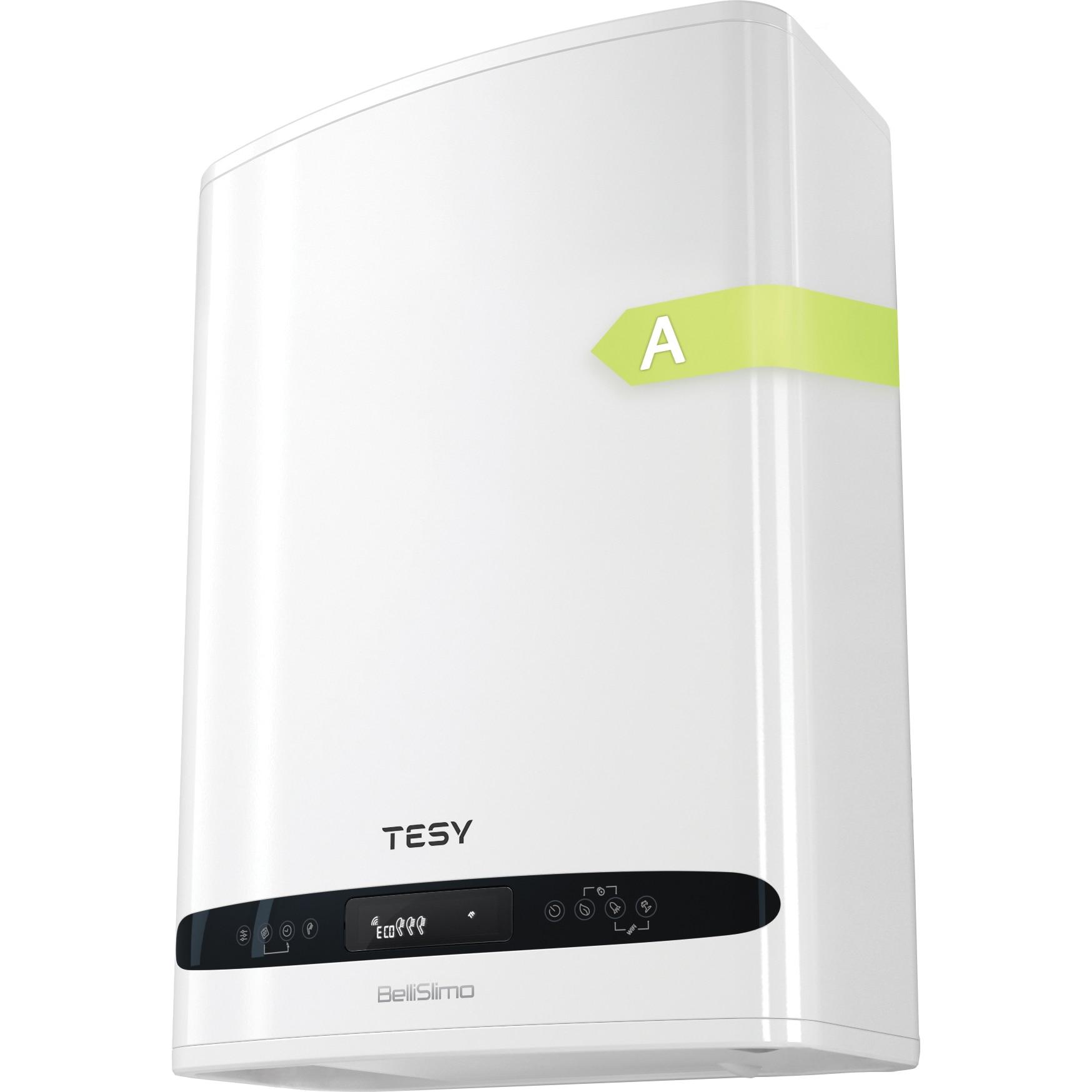 Fotografie Boiler electric TESY BelliSlimo, 1200 W, 30 l, reversibil, control electronic, GCR 302712 E31 EC