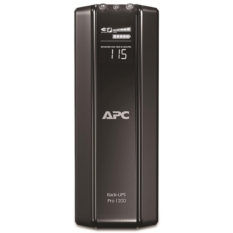 Fotografie UPS APC Back-UPS RS, 1200VA, 720W, Line-interactive, 6 conectori Schuko CEE7, baterie APCRBC124