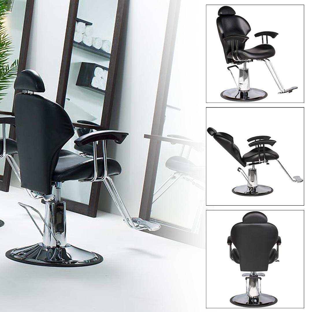 fehér állítható fodrász szék