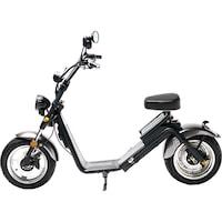 Moped Electric FreeWheel MotoRo S1 Gri - Autonomie 40 Km Viteza 45 Km/h Omologat RAR Motor 1200 W