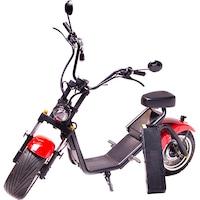 Moped Electric FreeWheel MotoRo S1 Rosu - Autonomie 40 Km Viteza 45 Km/h Omologat RAR Motor 1200 W