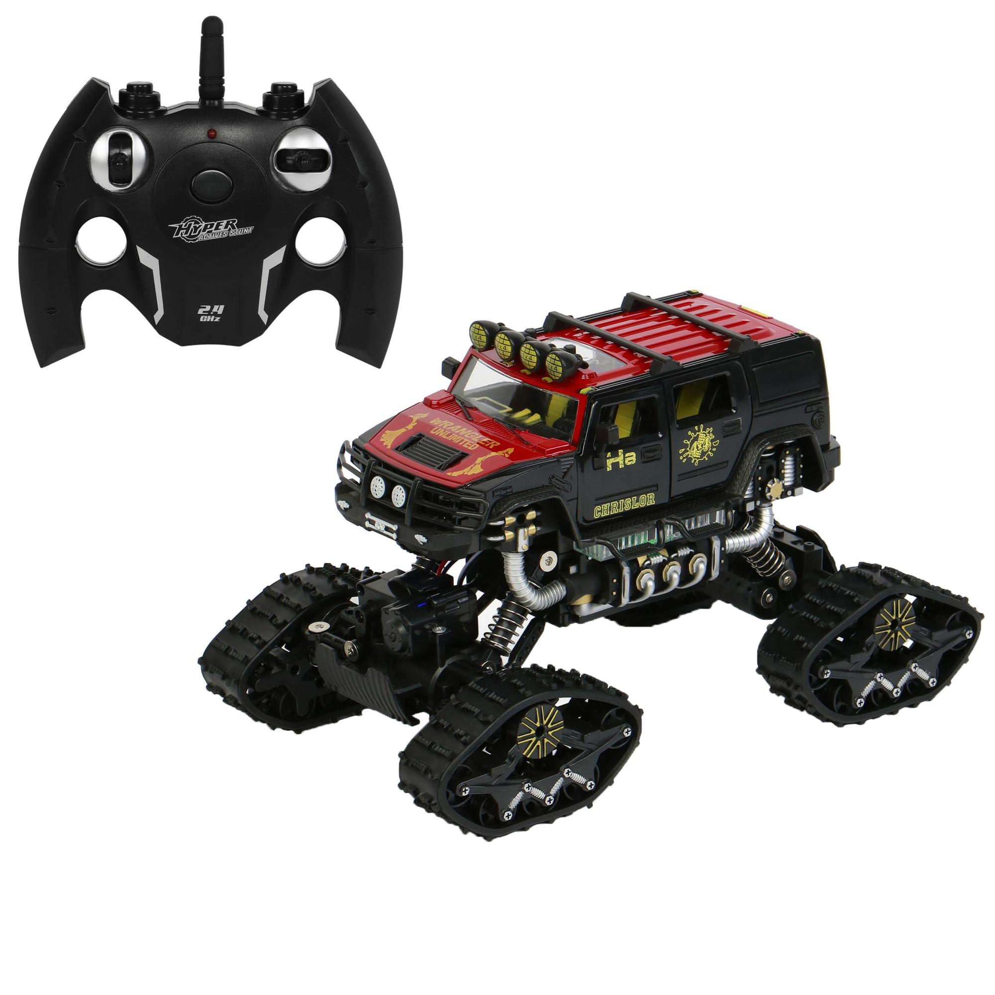 Fotografie Masinuta M-Toys cu telecomanda, Double all terrain, Scala 1:14, Rosu