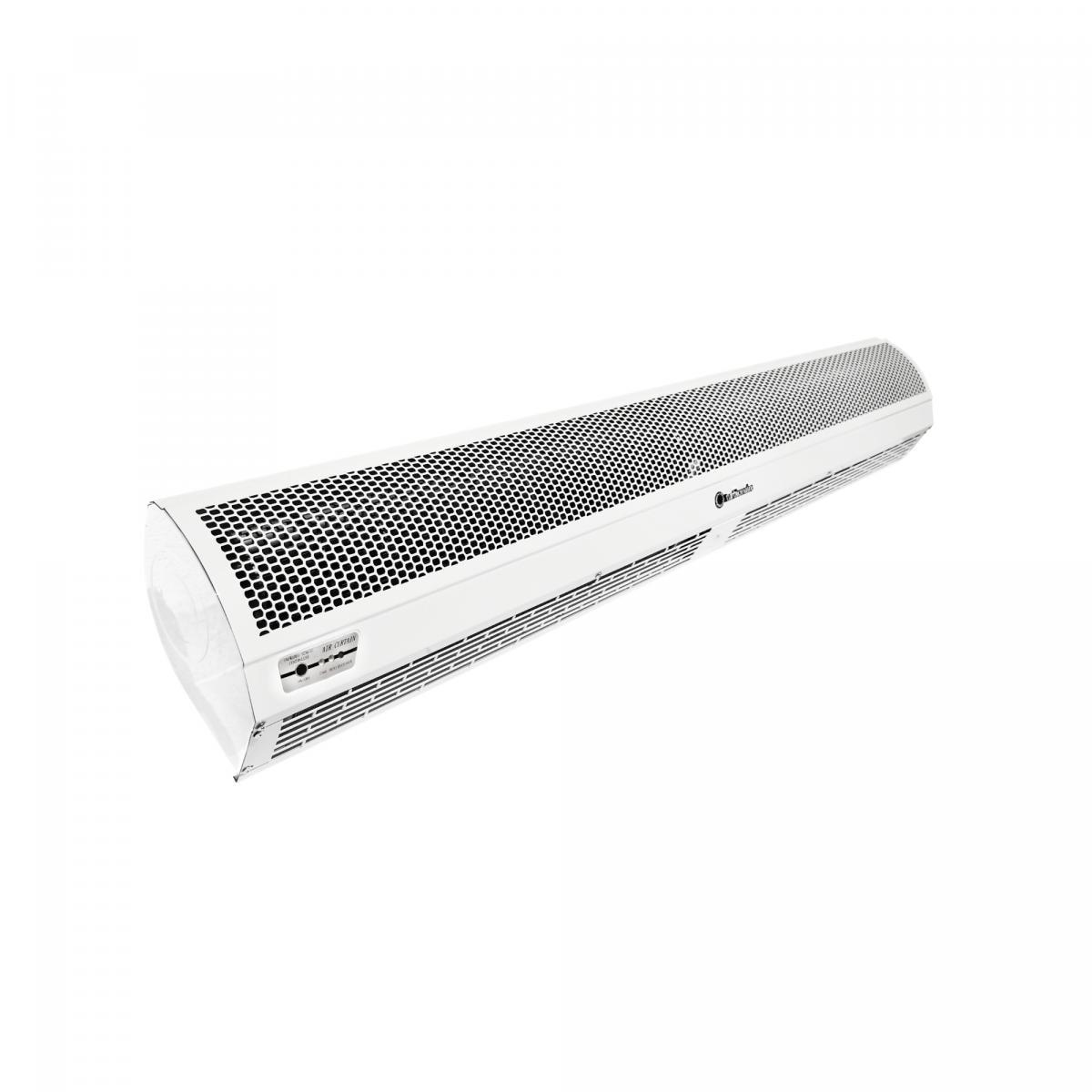 Fotografie Perdea de aer cald electrica Turbionaire Linea Heat 150T, debit 1900 mc/h, trifazic, 150 cm, telecomanda inclusa