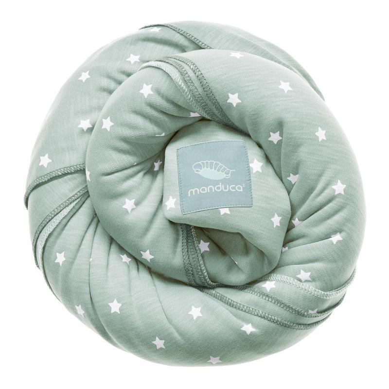Fotografie Wrap elastic Manduca Little Stars Mint, Verde