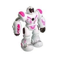 Nagy robot távirányítóval / RC robotzsaru-rózsaszín