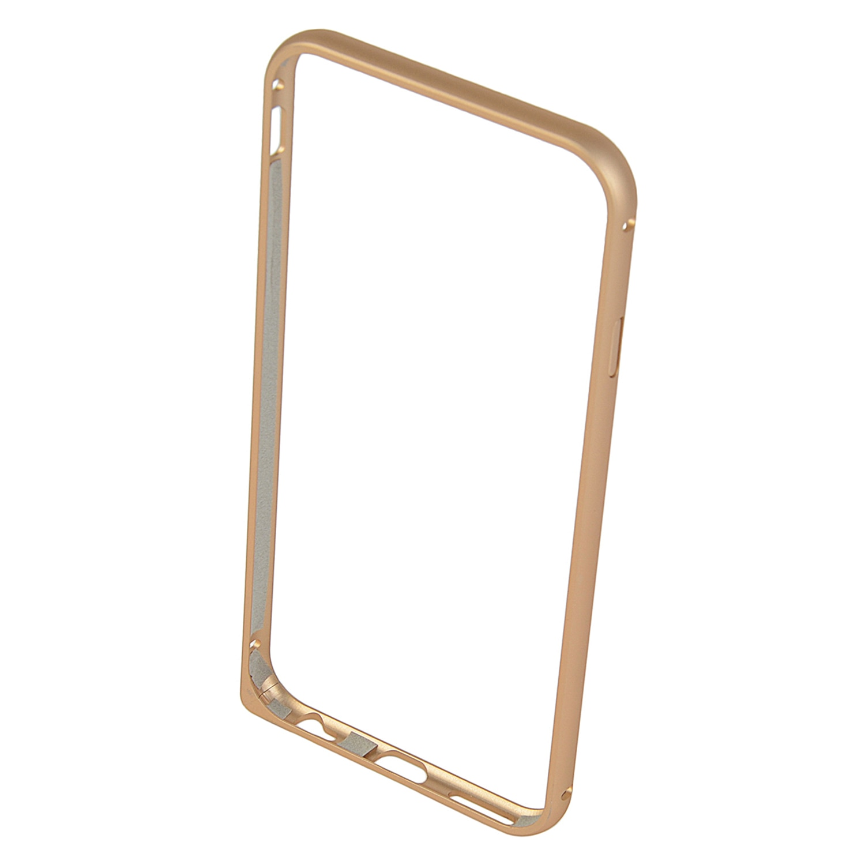 Fotografie Bumper aluminiu A+ Case pentru iPhone 6s, Golden