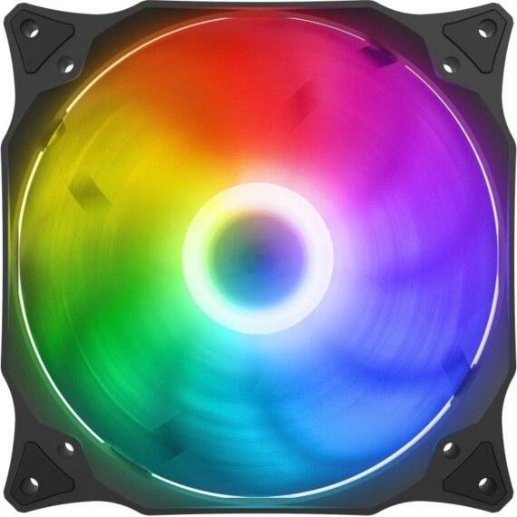 Fotografie Ventilator SilentiumPC Stella HP 140 ARGB, PWM, 800 - 1800 RPM