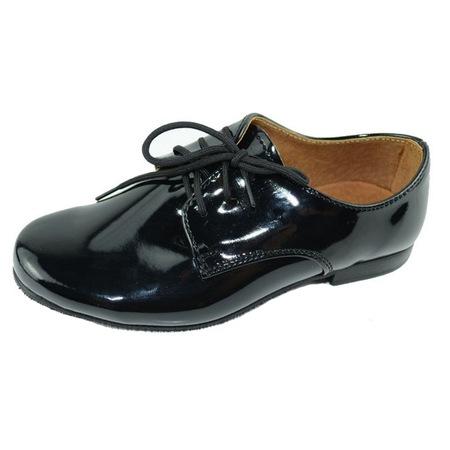 Pantofi eleganti KMK KMK 99LAK-2, Negru, 39 EU