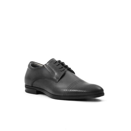Pantofi eleganti de barbati piele naturala Leofex 522, negru 43 EU