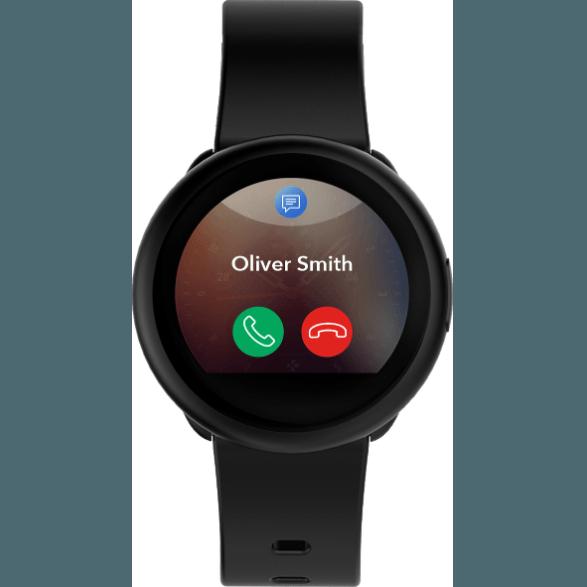 Fotografie Smartwatch MyKronoz ZeRound 3 Lite Rezistent la apa IP67, Optical HR, Negru
