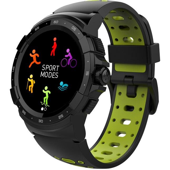 Fotografie Smartwatch MyKronoz ZeSport 2 GPS, Optica HR, Negru/Galben