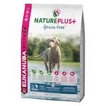Суха храна за кучета Eukanuba NaturePlus Grain Free Allbreed, Puppy & Junior, Сьомга, 10 кг