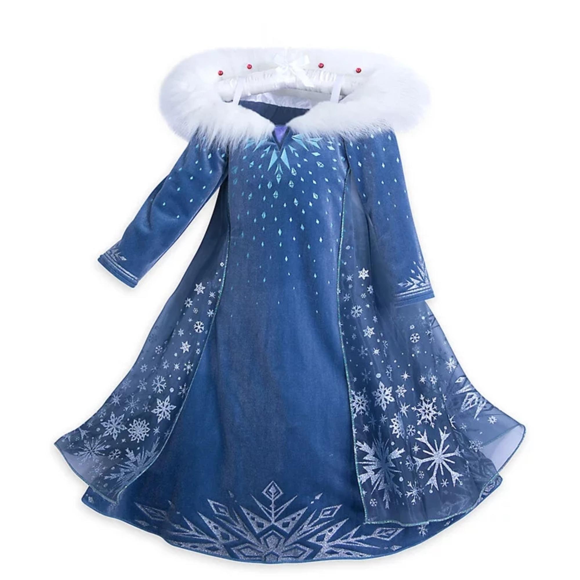 site autorizat selecție uimitoare data eliberării Rochie Elsa Frozen model Fulg de nea, 4 - 5 ani, Trickert - eMAG.ro