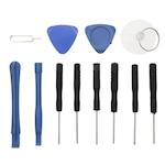 FIX4smarts Battery Exchange Kit 12 Tools - комплект инструменти за смяна на батериите на iPhone X, iPhone 7/8, iPhone 7/8 Plus (12 броя)